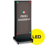 LED式電飾スタンド看板 ADO-920NE-LED-K1 ブラック 高さ1500mm